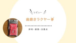 【レビュー】歯磨きラクヤー愛猫用の口コミ・評判、実際に試した感想や、注意点をまとめました!
